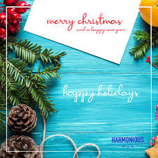 <b>Merry Christmas and Happy</b> 2021 – HARMONIOUS