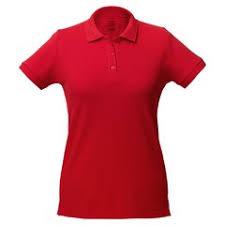 <b>Рубашка поло женская Virma</b> Lady, красная с логотипом - купить в ...