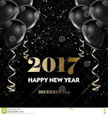 happy new year 2017 fancy gold champagne and black hot air happy new year 2017 fancy gold champagne and black hot air balloons