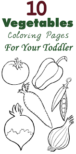 Small Picture Top 10 Free Printable Vegetables Coloring Pages Online
