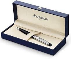 Waterman Expert Deluxe Ballpoint Pen, Gloss Black ... - Amazon.com