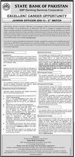 junior officer og job state bank of job nd batch junior officer og 1 job state bank of job 2nd batch nts test result sbp banking 29 dec