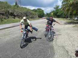 photo essay motorbike trip to rio san juan turf to surf ryan and morgan motorcycles n republic