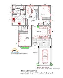 House plan and elevation   Sq  Ft   Kerala home design and     Square Meter   Sq  Ft   House Plan  amp  Elevation