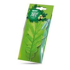 "<b>Ароматизатор воздуха подвесной Листик</b> "" Зеленый лес"" , RW6059"