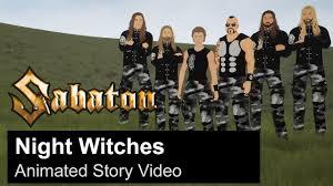 SABATON - <b>Night Witches</b> (Animated Story Video)