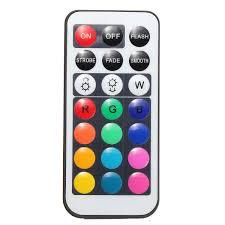 Mini <b>21 Keys IR Remote Control</b> for LED Lighting Strip Light Sale ...