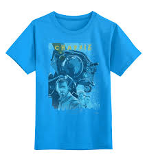 <b>Детская футболка классическая</b> унисекс <b>Printio</b> Chappie / Робот ...