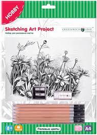 <b>Greenwich</b> Line <b>Набор</b> для рисования Полевые цветы — купить в ...