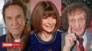 New Year Honours 2017: Anna Wintour, Ken Dodd and <b>Ray Davies</b> ...