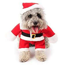 BOBOLILI Dog Cat Christmas Costume, Funny <b>Pet Cosplay Clothes</b> ...