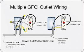 wiring multiple gfci outletsmultiple gfci outlet wiring