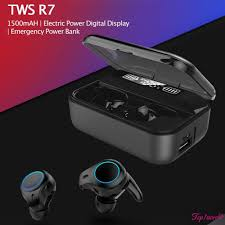 【COD】 <b>R7 TWS</b> Wireless Sports Headset Stereo Bluetooth 5.0 ...