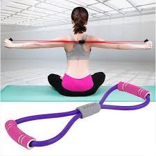 <b>8 Word</b> Chest LOOP Latex <b>Resistance Bands</b> Stretch Yoga | Shopee ...