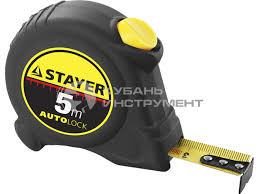 <b>рулетка stayer</b> master <b>autolock</b> 5х25 автостоп 2-34126-05-25_z01 ...