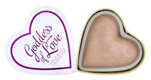 <b>Хайлайтер</b> для лица <b>Revolution</b> Makeup Blushing <b>Hearts</b> Goddess ...