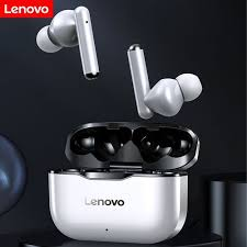 <b>Lenovo LP1</b> True <b>Wireless</b> Earphone Bluetooth 5.0 Noise Reduction ...