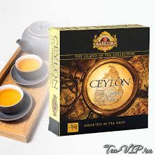 <b>Чай ассорти Basilur</b> Остров Цейлон 40 пакетиков | купить с ...