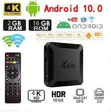 <b>Android 10.0</b> TV Box,<b>X96</b> Mini 2020 Upgraded Version <b>X96Q</b> ...