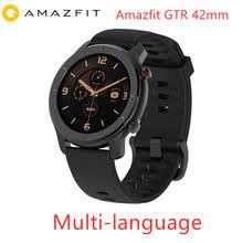 Глобальная версия Amazfit GTR 42 мм <b>умные часы Huami</b> 5ATM ...