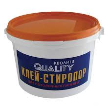 <b>Клей Quality для</b> потол. панелей стиропор 1,5кг.   Цена, купить в ...