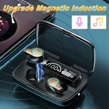 <b>M18 TWS</b> Wireless Bluetooth 5.1 Headphones Mini Earphones In ...