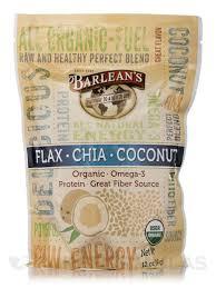 Organic <b>Flax</b>, <b>Chia</b> & <b>Coconut Blend</b> - 12 oz (340 Grams)
