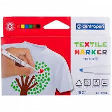 """<b>Набор маркеров</b> для ткани <b>Centropen</b> """"2739"""" 06цв., картон. уп ..."""
