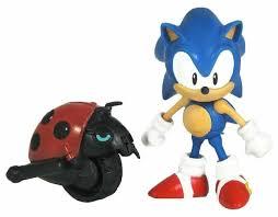 <b>Фигурка</b> Jazwares <b>Sonic Соник</b> с божьей коровкой 65721 ...