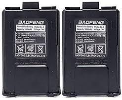 BAOFENG <b>2pcs</b> 7.4V <b>1800mAh Li</b>-<b>ion</b> Battery Walkie Talkie DM-5R ...