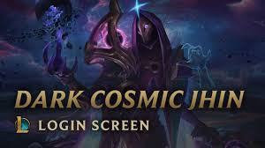 Dark Cosmic Jhin | Login Screen - <b>League</b> of Legends - YouTube