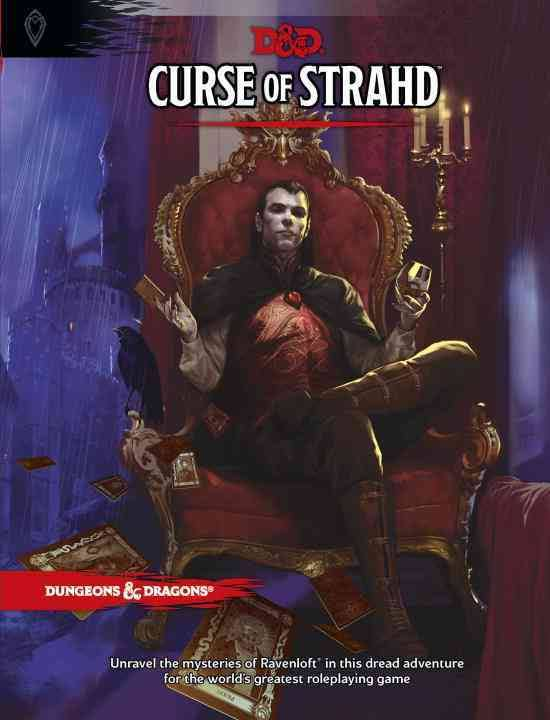 Cover of Curse of Strahd