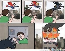 Superhero by xxpartyninjaxx - Meme Center via Relatably.com