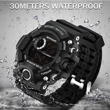 SANDA Army Watch <b>Men Fashion Waterproof</b> Mens Watches Top ...
