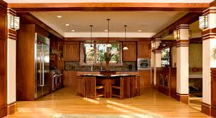 Prairie Style Kitchen Cabinets Frank Lloyd Wright Craftsman Style Homes Google Search Kitchen