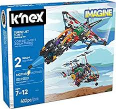 K'NEX – Turbo Jet – 2-in-1 Building Set – 402 Pieces ... - Amazon.com
