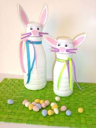 How-To: <b>Funny Bunny</b> Candy Containers | Easter | Coffee creamer ...