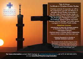 certificate in christian muslim studies washington theological and share the christian muslim certificate postcard as a high resolution pdf and as a digital graphic note