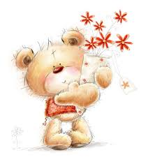 ᐈ <b>Мишки</b> с цветами фото, рисунки <b>мишка</b> с цветами | скачать на ...
