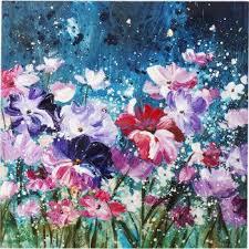 "<b>Картина Flower Garden</b>, коллекция ""Цветник""   KARE Tallinn"