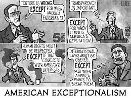 Image result for American Exceptionalism CARTOON