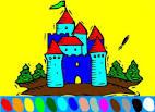 Замки раскраски онлайн для детей