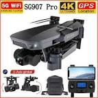 2020 <b>NEW SG907 Pro</b> GPS Drone Quadcopter 5G WIFI 4K HD ...