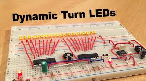 Audi Style <b>Dynamic turn Signal LED</b> (LM3914 & NE555) - By STE ...