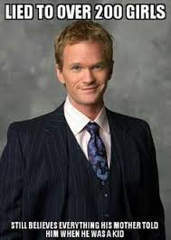 How I Met Your Mother: A Barney Stinson Tribute on Pinterest | Met ... via Relatably.com