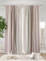 <b>Комплект штор Томдом Ланджит</b> 300х260см, белый, розовый ...
