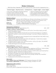 tech support resumes support executive resume sample technical       it support specialist resume