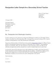 resignation letter template for teachers sample resumes sample resignation letter template for teachers teacher resignation letter templates and examples letter sample sample letter of
