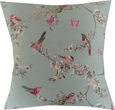 designer duck egg blue pink floral vintage bird by heavenlyideasuk blue vintage style bedroom