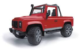 <b>Внедорожник</b>-<b>пикап Bruder Land Rover</b> Defender
